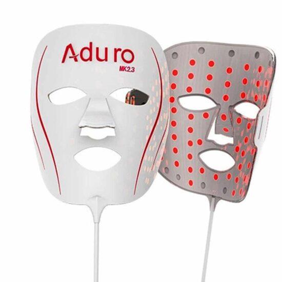 Maschera per terapia della luce a LED Aduro