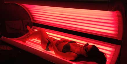 Light Therapy Collagen Bed