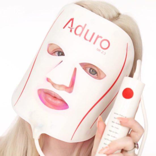7 + 1 LED Mask