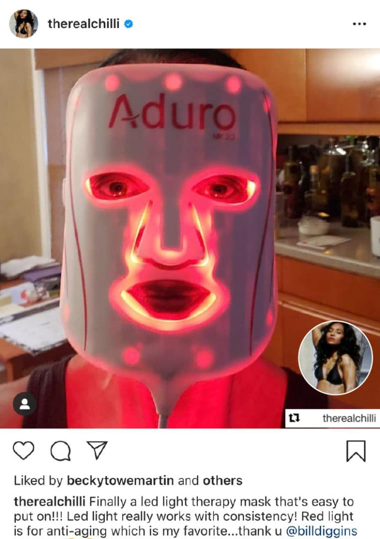 TLC Chilli with Aduro Mask