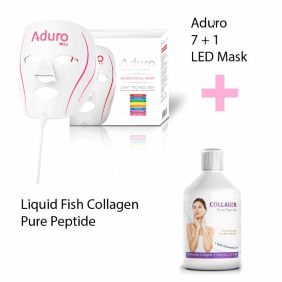 LED Face Mask + Liquid Collagen